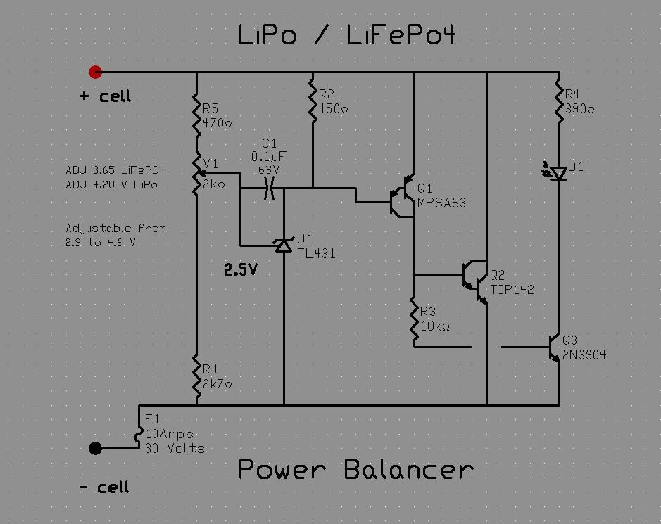 Schema Elettrico Per Carica Batterie Al Litio : Pagina bilanciamento lipo lifepo