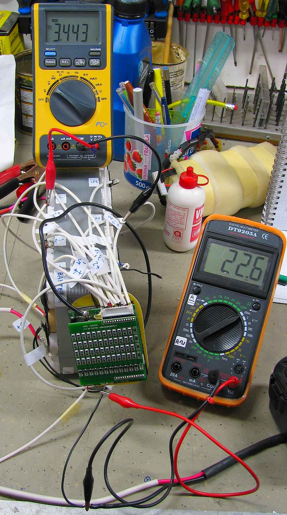 Schema Collegamento Bms : Vectrix stock bms battery management system v is for voltage